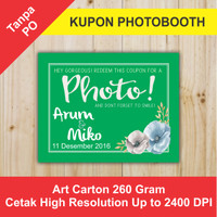 KUPON SOUVENIR PHOTOBOOTH KPB 35x45