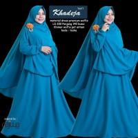 Gamis Baju Muslim set Syar i Khadeja New Colour ORI NAJWA NKH01