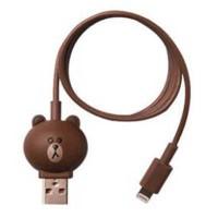 Kabel USB Lucu Kabel Charger Lightning Model Brown Line