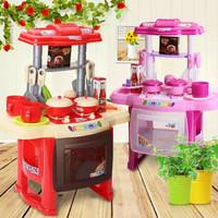 Mainan Memasak Edukasi Edukatif Anak Barbie Kichen Set