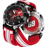 Jam Tangan Pria Mewah - Tissot T-race Moto Gp Nicky Hayden White Red