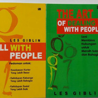 SKILL WITH PEOPLE & THD ART OF DEALING WITH PEOPLE - LES GIBLIN