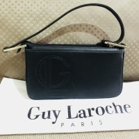 GUY LAROCHE Tas ORIGINAL 100% Paris, kulit asli AUTHENTIC cewe wanita