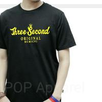 Distro/Kaos/Baju/T-Shirt/3SECOND ORIGINAL MCMICVI THREESECOND