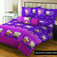 Sprei Lady Rose Hello Kitty 120x200