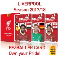 Liverpool season 2017/2018 kartu bola Fezballer Card (Reguler Edition)