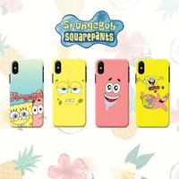 CUSTOM CASE Tema Spongebob for iPhone Samsung Oppo Vivo Xiaomi