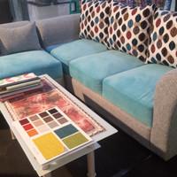 Sofa L putus model minimalis