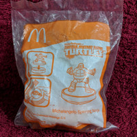 Teenage Mutant Ninja Turtles 2015 Happy Meal MCD