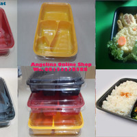 Mika Bento sekat 4/Box Bento/Mika Lunch/Tray Bento