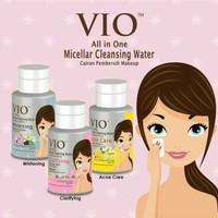 VIO CLEANSER WATER 180ML BPOM ASLI - VIO CLEANSER PEMBERSIH MAKE UP
