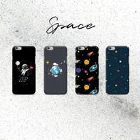 CUSTOM Case tema Galaxy & Space for iPhone Samsung Oppo Vivo Xiaomi