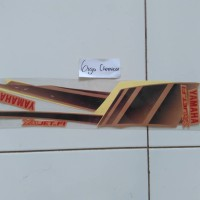 striping stiker lis yamaha sou gt 2012 2013 kuning emas