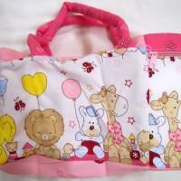 Tas bayi diapers bag dengan saku tempat botol susu