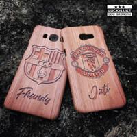 custom case wood kayu casing samsung j2 j3 j5 j7 prime s7 s8 oppo f5