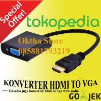 KONVERTER / Converter HDMI TO VGA / KABEL HDMI TO VGA