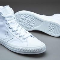 Sepatu Converse CONS Mono Star Player Mid White 144478c
