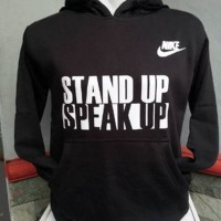 HOODIE NIKE STAND UP SPEAK UP Diskon