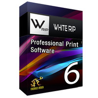 WhiteRIP ver 6 for DTG printer with engine Epson 1390 (6 channel)