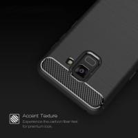 Candy Case Carbon Fiber For Samsung Galaxy A8 Plus 2018