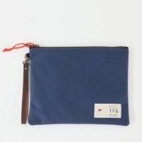 TFG Pouch 408 Canvas - Tas pria wanita organizer clutch hand bag