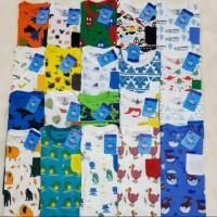 Grosir 3pcs 100K Baju Anak Ori OKBG FullPrint Boy