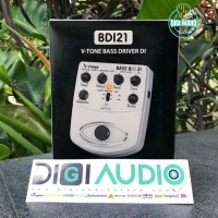 Behringer V-TONE BDI21 [ BDI 21 ] Bass Direct Recording Preamp DI BOX
