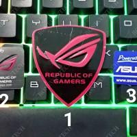 Logo Stiker / Sticker Asus & Asus ROG