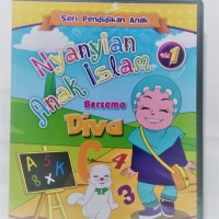 VCD Seri Pendidikan Anak Nyanyian Anak Islam -Diva Vol 1