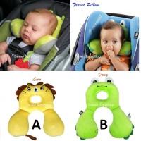 Bantal Leher Bayi|Baby Travel Pillow|Kado Batita|Anti Pegal|Penopang