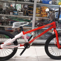 """Hot promo!!!sepeda anak & dewasa bmx pacific black out 20"""" new"""