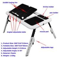 Meja Laptop/NetBook Portable (E-Table Type: LD09)