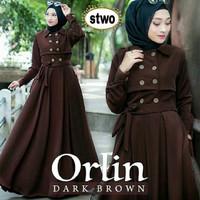 Baju Muslim Wanita-Dress Orlin Maxi Modis-Model Baru-Trendy