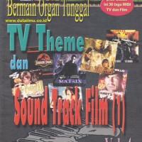 Obral Buku Bermain Organ Tunggal TV Theme Dan Sound Track Film 1 Vol.4