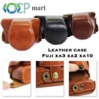 TERBARU Leather Case Fujifilm X-A3 Leather bag tas kamera kulit