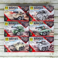 Terheboh Set Lego K Yoyo 11111 Brick - Armed Force Army Tank Tentara