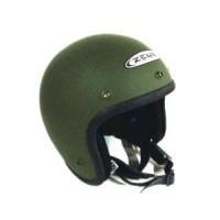 Helm Zeus Retro ZS 385 c Matt Army Force Green Diskon