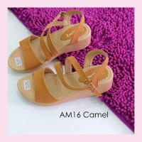 sepatu wanita online jakarta sandal sepatu wedges AM16