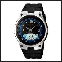 Casio Analog Digital Fishing Gear Watch AW-82H-1AVDF - Jam Tangan Pria