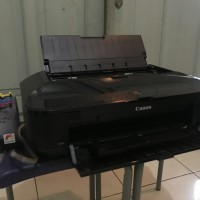 Printer Canon Pixma iX6560 ( Inkjet Printer ) A3 + Infus