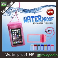 Waterproof / Waterproff airbag / aig bag sarung universal hp anti air