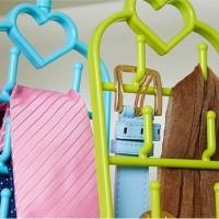 Gantungan jilbab Sabuk Dasi syal Multiguna / Portable Hanger - HPR139