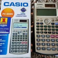 Calculator Casio scientific FC-200V - Financial
