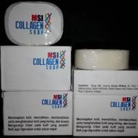 Fungsi Sabun Collagen | Sabun Mandi Collagen/Manfaat Collagen Soap Msi