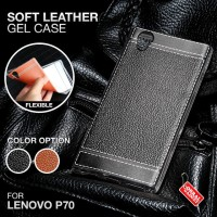 Soft Leather Gel Case Lenovo P70 Softcase Silikon Silicon Jelly Casing