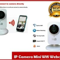 IP Camera Mini Wifi Webcam Nirkabel Audio 720HD