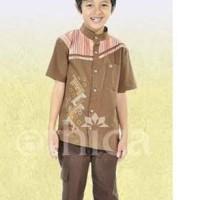 Baju Anak I Koko Anak Ethica K 51 Coklat NO 7