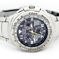 Citizen JR3000-51F Eco-Drive Skyhawk Flight Chronograph Watch