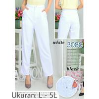 Celana Wanita Panjang Khusus Putih