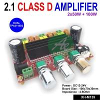 2.1 Channel Digital Power Amplifier Board TPA3116D2 2x50W+100W 12-24V